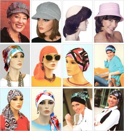 Image Choices carries a large selection of wigs and headwear for women undergoing hair loss due to chemotherapy.